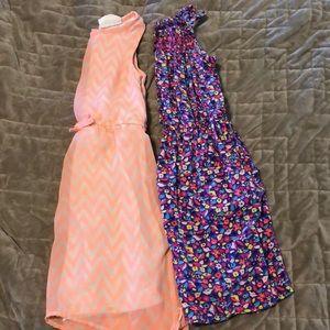 Girls Size 7/8 dresses